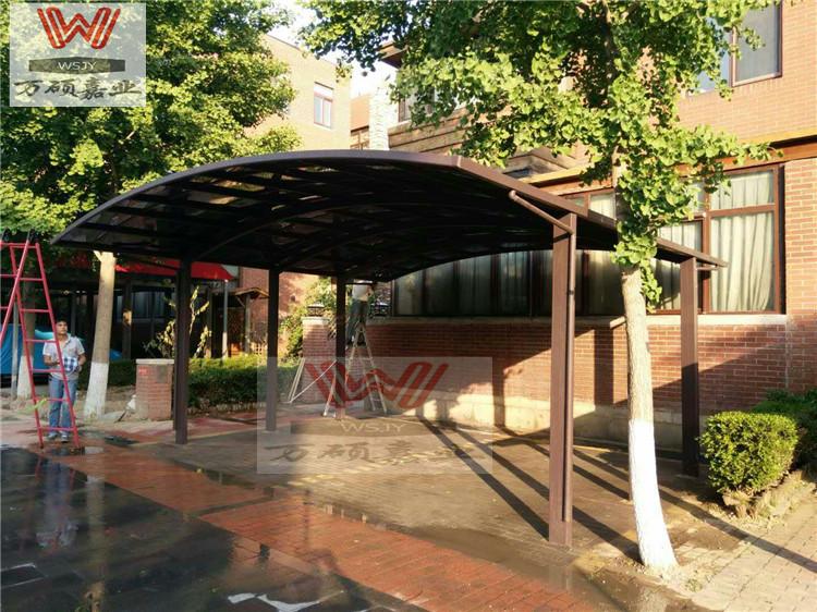 铝合金户外阳光房露台欧式别墅雨棚遮阳棚阳台定制蓬遮阳